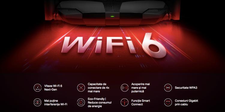 Mercusys oferă experiențe complete la cele mai înalte standarde cu ajutorul tehnologiei Wi-Fi 6