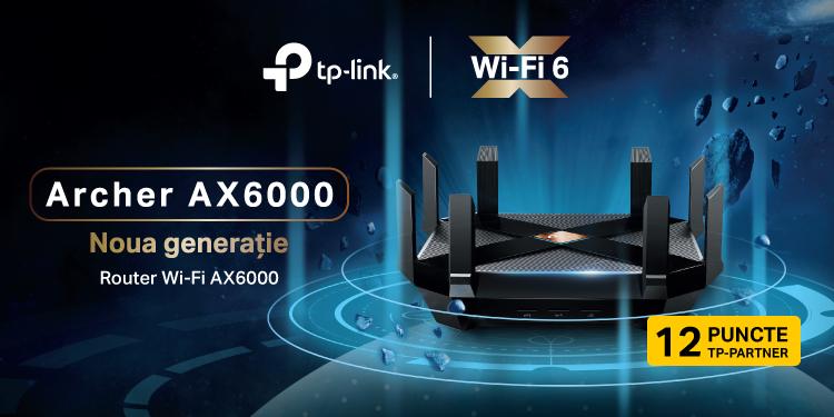 Archer AX6000 | Router noua generație Wi-Fi 6