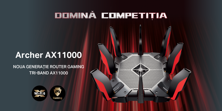 Archer AX1100 | Router GAMING Tri-Band AX11000