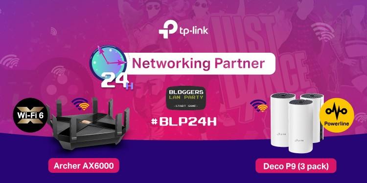 TP-Link este Networking Partner mai mult de 24 de ore neîntrerupt la o nouă ediție Bloggers Lan Party #BLP24H