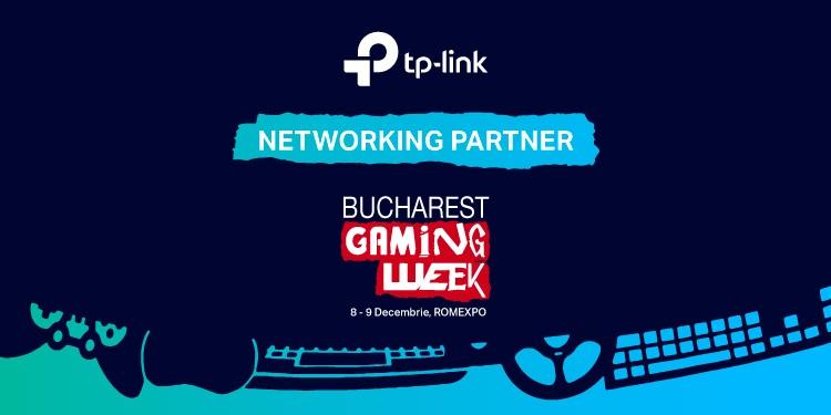 TP-Link este Networking Partner la a doua ediție de Bucharest Gaming Week
