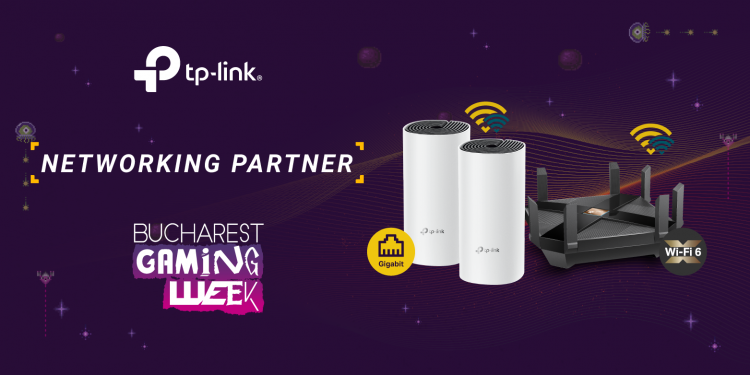 TP-Link revine în calitate de Networking Partner la Bucharest Gaming Week