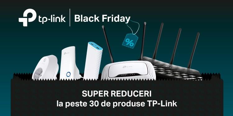 Black Friday 2016: TP-Link anunță 30 de produse și stocuri de 120.000 de unități
