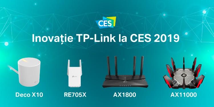 TP-Link® prezintă la CES 2019 toate ofertele de Whole Home Mesh și cea mai completă linie de produse pentru noul 802.11ax (Wi-Fi 6) Wireless Standard