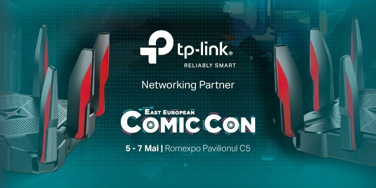TP-Link @ East European Comic Con 2017