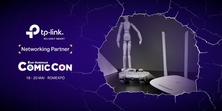 TP-Link este Networking Partner pentru al 5-lea an consecutiv @ East European Comic Con 2018