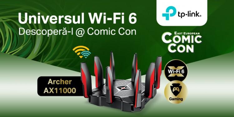 TP-Link & Comic Con, ediția 2021. Descoperă universul Wi-Fi 6 TP-Link și domină competiția
