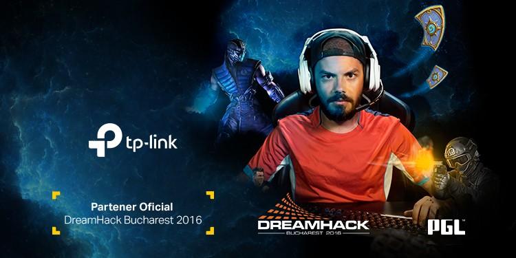 TP-Link este partener tehnic al PGL pentru  a patra ediție consecutivă DreamHack