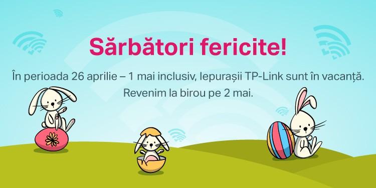 Programul TP-Link de Paște