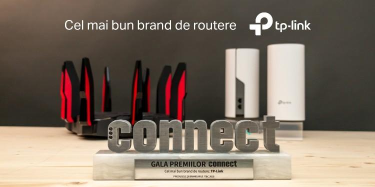 """TP-Link a fost desemnat """"Cel mai bun brand de routere"""" din 2018 în cadrul Galei Premiilor Connect"""