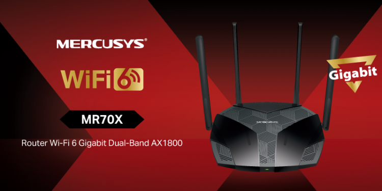 Mercusys® lansează în România noul flagship MR70X – primul router Mercusys® cu tehnologia Wi-Fi 6