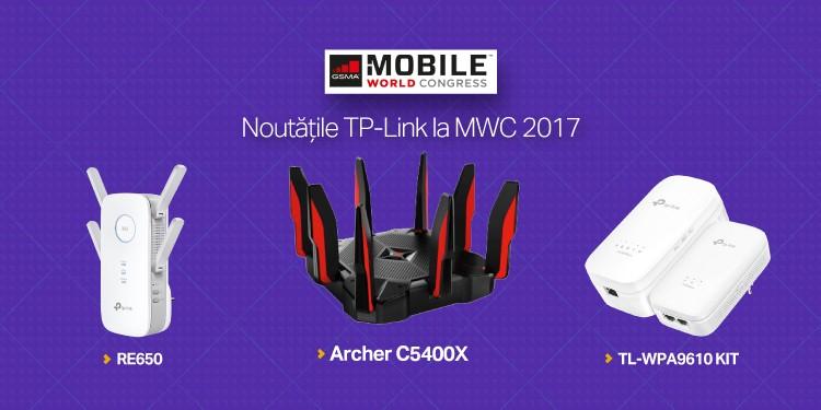 MWC Barcelona 2017: TP-Link® lansează Archer C5400X, routerul Wi-Fi cu cel mai puternic procesor