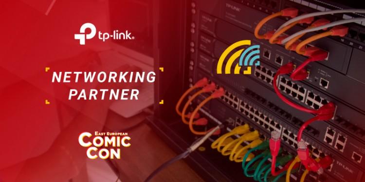 TP-Link asigură la East European Comic Con 2019 o rețea de date pregătită pentru 7.000 mii de dispozitive wireless conectate pe toată durata evenimentului