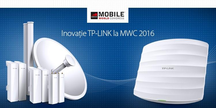 TP-LINK lansează la MWC dispozitive Acces Point AC1900 și soluții pentru ISP-uri