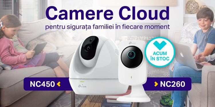 Camere Cloud TP-Link - Acum in stocul distribuitorilor oficiali
