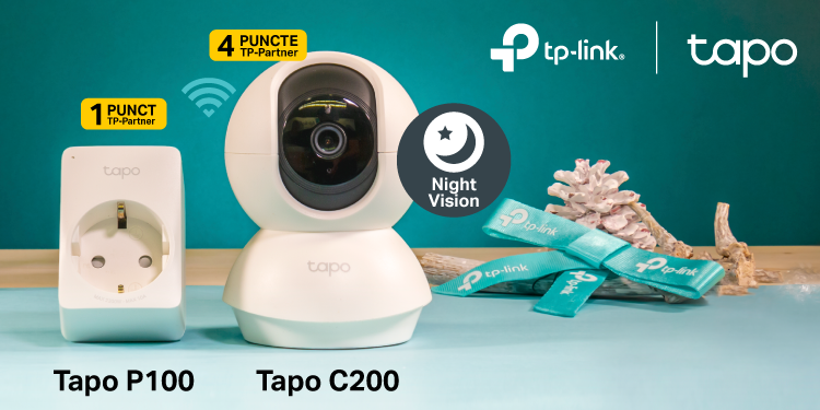TP-Link® lansează în România noua gamă smart home Tapo, care oferă soluții accesibile pentru o casă inteligentă, cadoul perfect pentru pasionații de gadgeturi