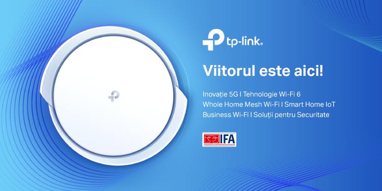TP-Link® a prezentat în premieră la IFA 2020 sistemul mesh 5G Wi-Fi 6 Gateway, Deco X80-5G, valva termostatică smart pentru calorifer – Tapo E100, dar și noua soluție de securitate HomeShield