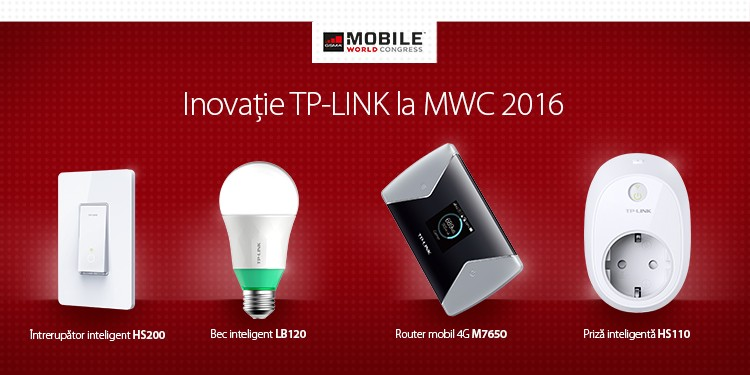 Mobile World Congress 2016: Dispozitive TP-LINK care asigură streaming 4K