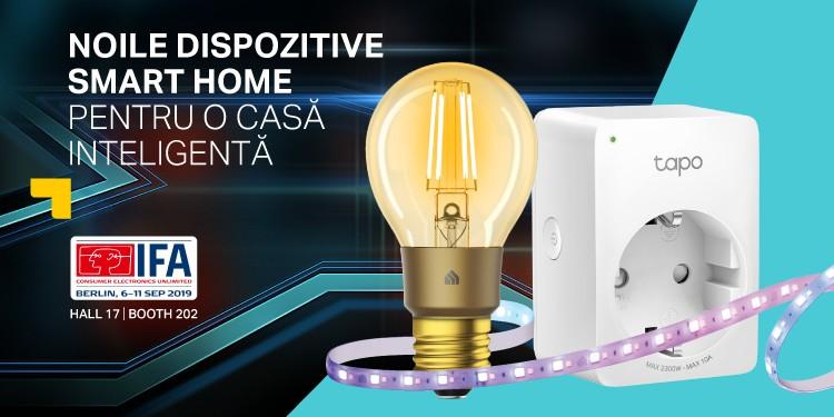 IFA Berlin 2019: TP-Link extinde gama de produse Smart Home și lansează un nou brand care oferă soluții accesibile pentru o casă inteligentă