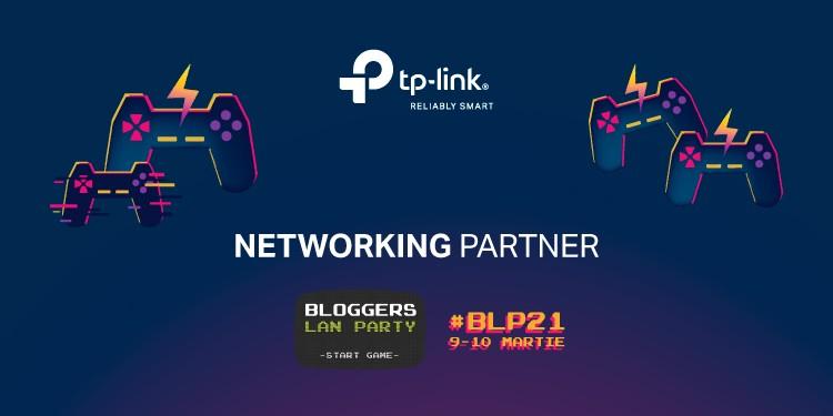 TP-Link este ales Networking Partner pentru Bloggers Lan Party, ediția 21