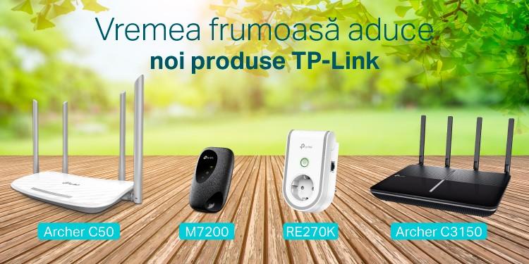 Vremea frumoasă aduce noi produse TP-Link