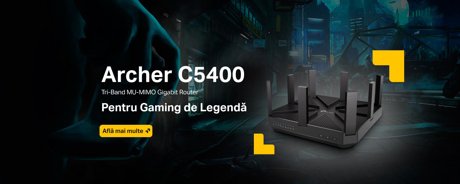 Archer C5400 - Pentru Gaming de Legenda