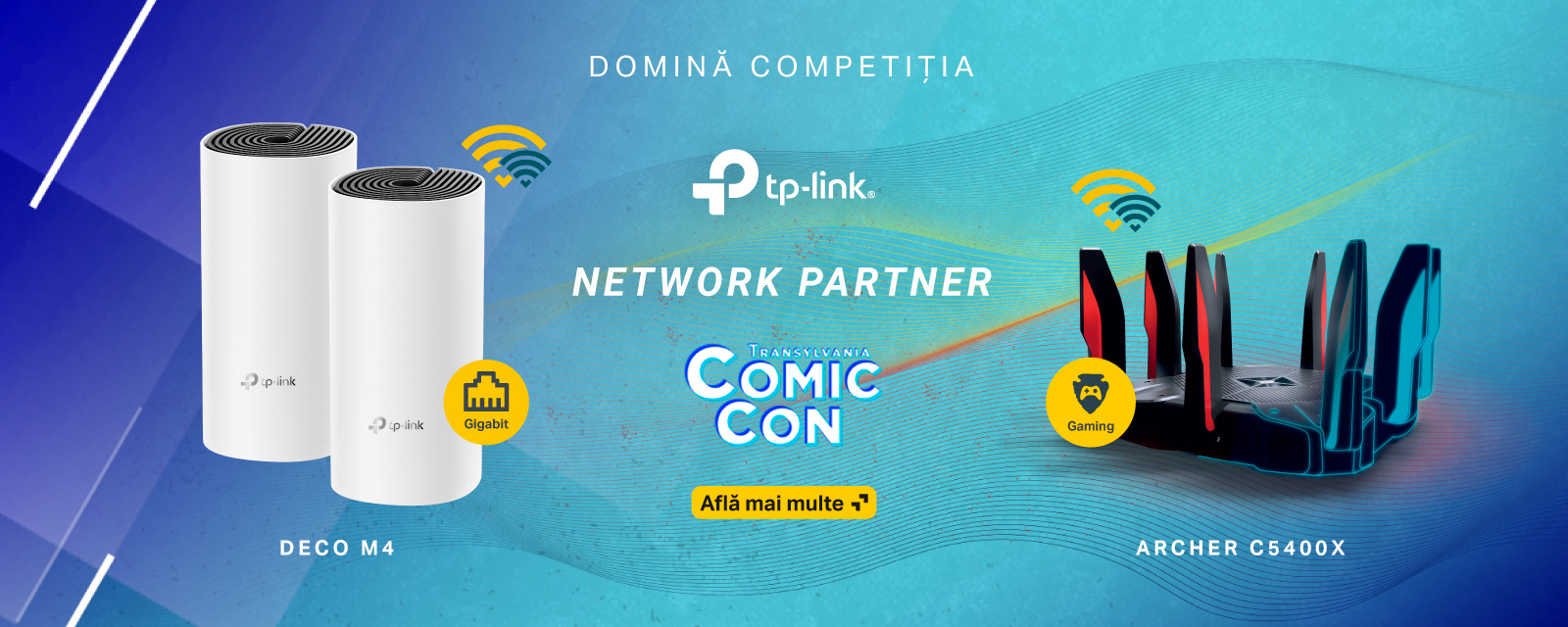 TP-Link la Transylvania Comic Co