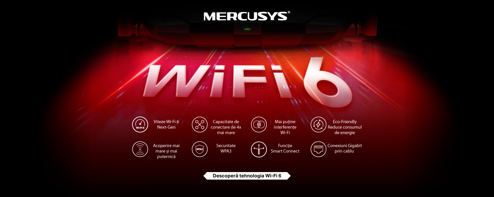 Wi-Fi 6 Mercusys