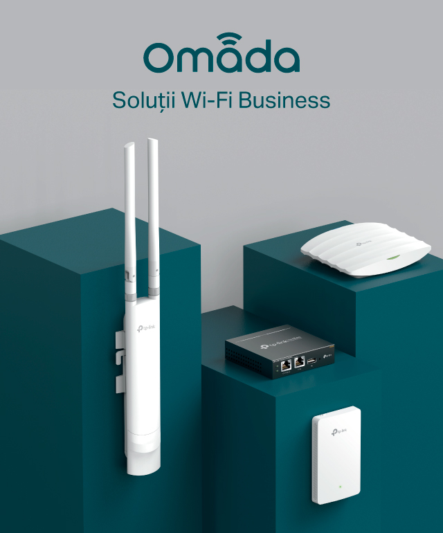 Solutii Wi-Fi Omada