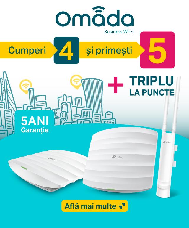 triplu la puncte Omada