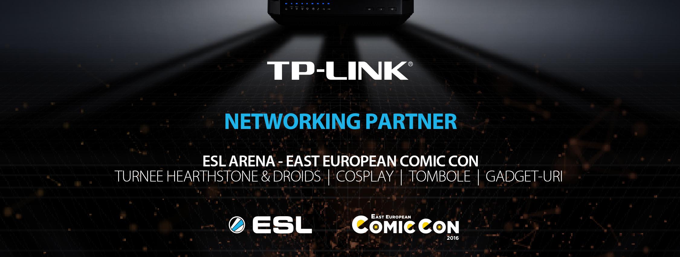 TP-LINK la Comic Con 2016