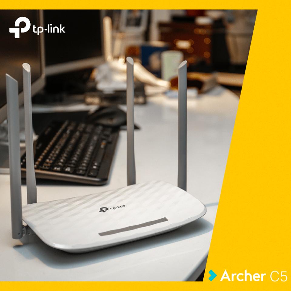 Am testat TP-Link Archer C5, un router puternic cu un preț bun