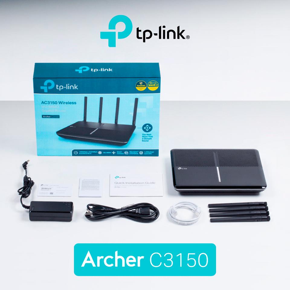 Review TP-Link Archer C3150 v2: Este noua versiune o actualizare importantă?