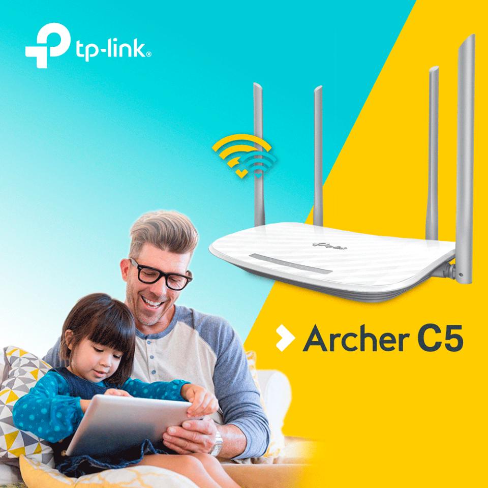 Controlează accesul copilului și angajaților la internet prin routerul wireless Archer C5