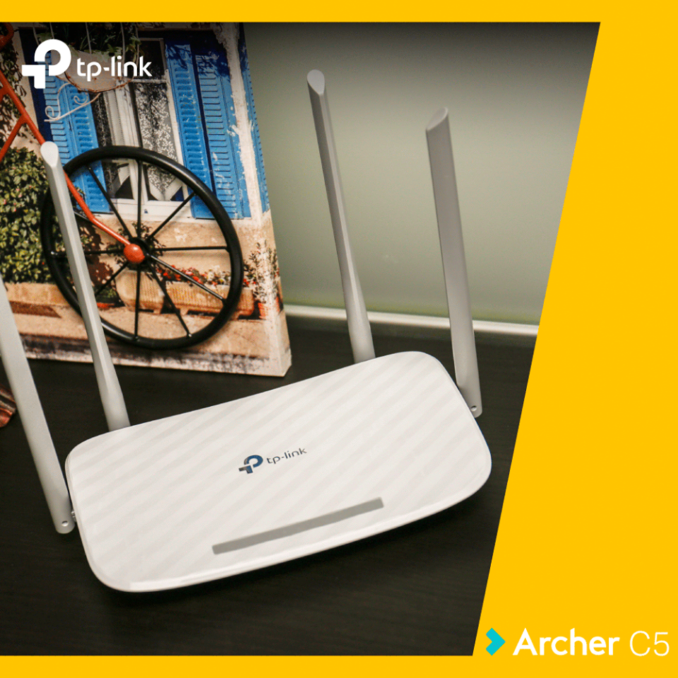 Review router TP-Link Archer C5 AC1200 Wireless Dual Band Gigabit