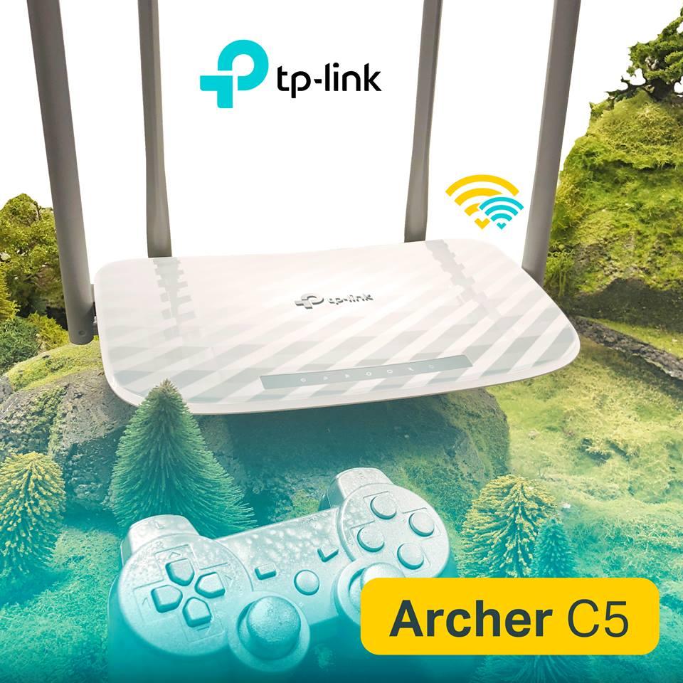 TP-Link Archer C5 AC1200 - routerul potrivit oricărui gamer
