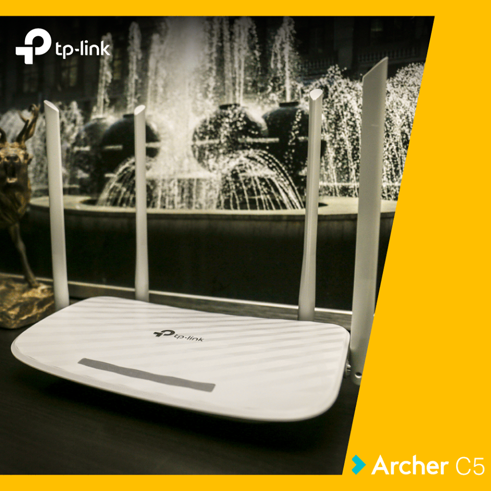 Router wireless TP-Link Archer C5 - review