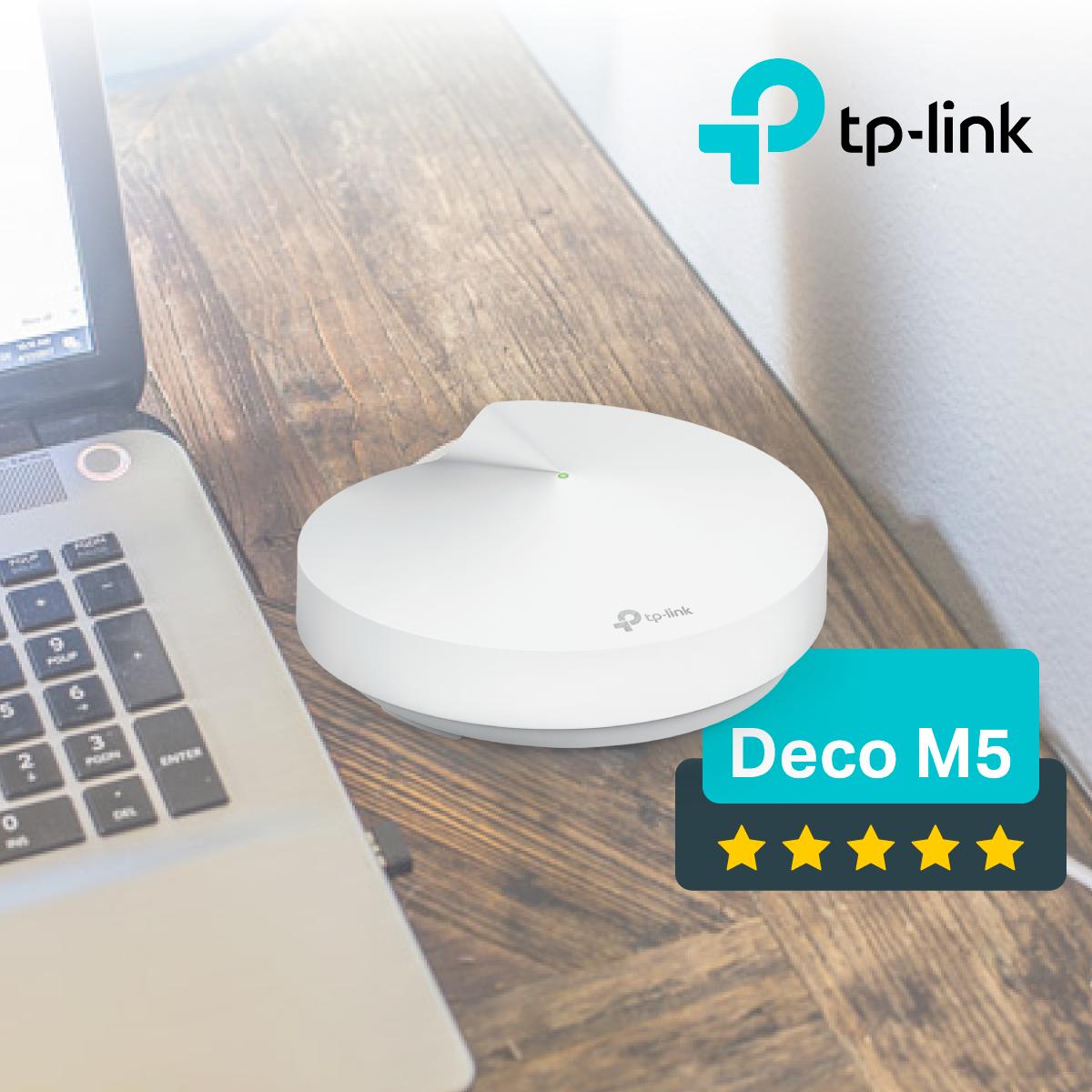 TP-Link Deco M5 (2 pack)– sistem mesh practic pentru casa
