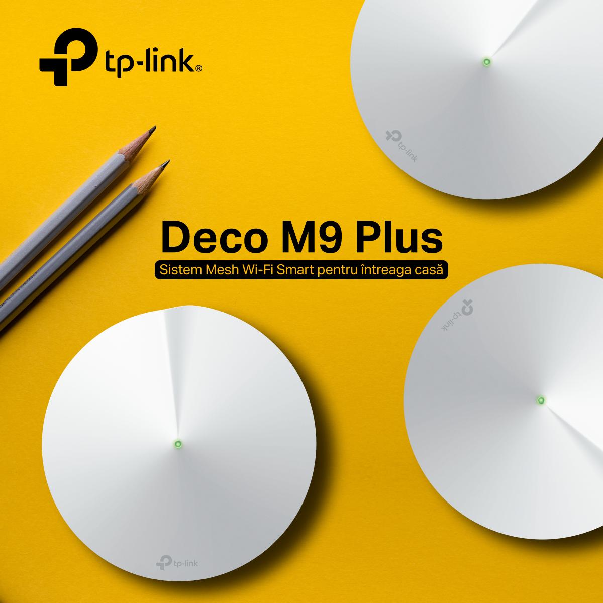 Review TP-Link Deco M9 Plus: Mesh Wi-Fi prieten cu casele inteligente!