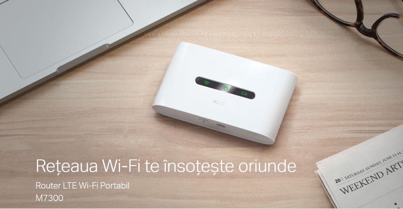REVIEW M7300 - routerul Wi-Fi mobil LTE de vacanță