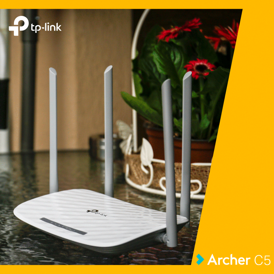 Review router TP-Link Archer C5 V4.0 AC1200