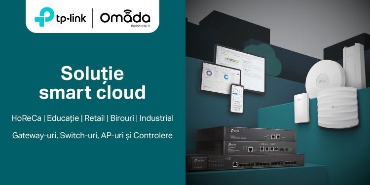 TP-Link oferă soluții integrate de business pentru accelerarea digitalizării companiilor din România, prin intermediul gamei Omada SDN